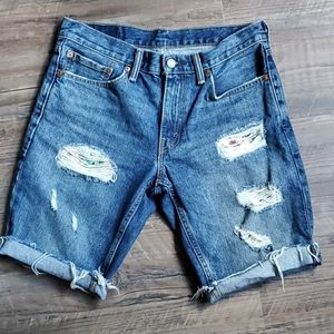 Levi's 511 cut off shorts